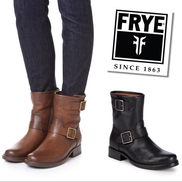 b52ee4751c6 Frye Vicky Engineer boots NWT
